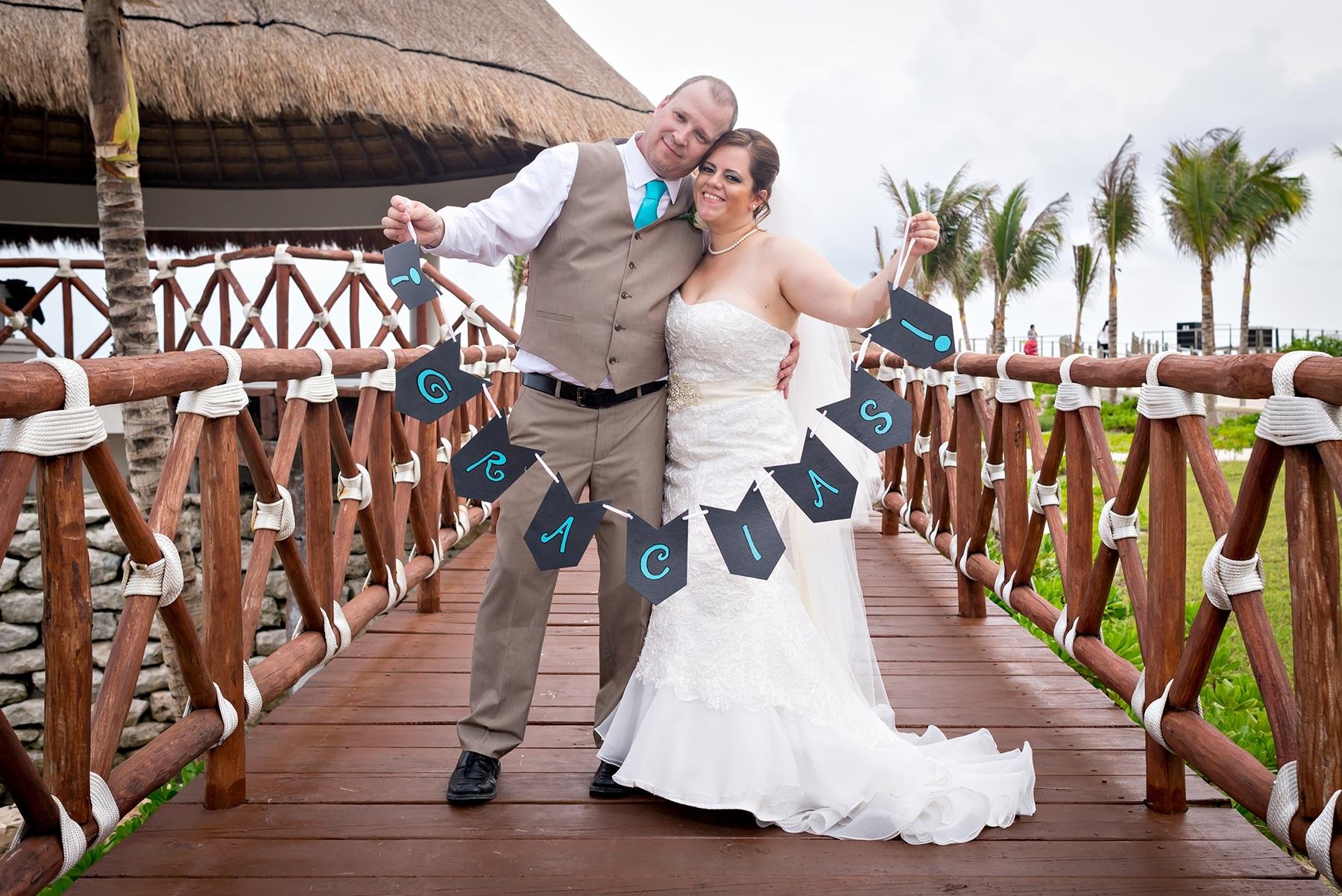 Jennifer & Lee James Hard Rock Hotel Riviera Maya Wedding