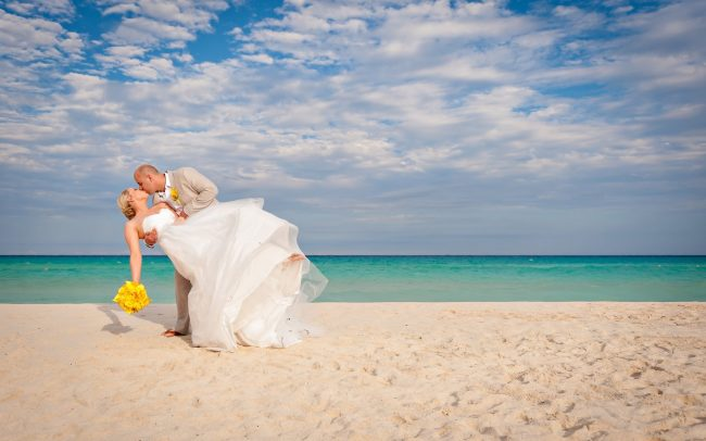 Joyce & David's Perfectly Picturesque Wedding at Viva Wyndham Maya Resort