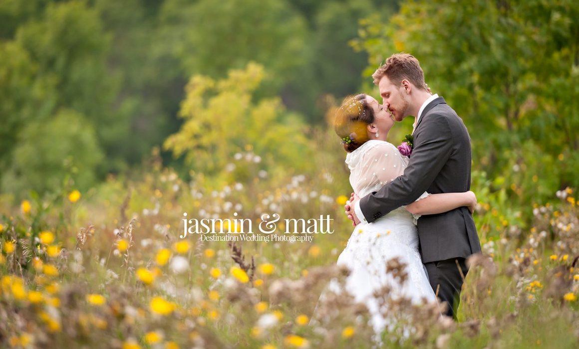 Jenna & Dennis's rural wedding in the Northern prairies of Kinosota, Manitoba, Canada
