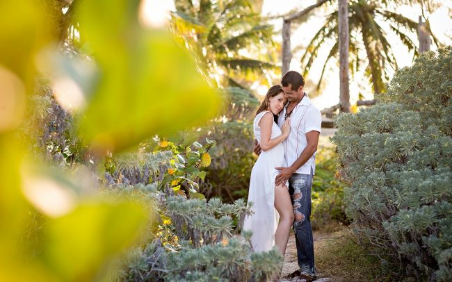 Tania & Mario's Sizzling Sexy Couple Session on the Beach near Playa Punta Esmeralda