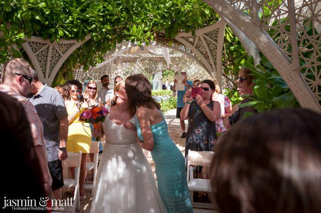 Debbie & Kris's Calm & Close-Knit Destination Wedding at Sandos Caracol Eco Resort