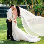 Kristen & Michael's Pristine & Picturesque Sky Deck Wedding at Azul Fives Hotel