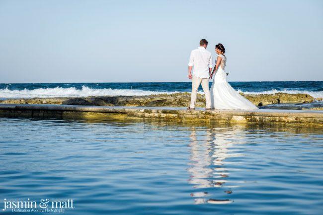 Samantha & Sebastien's Calm and Close-Knit Destination Wedding at Grand Palladium Riviera Resort & Spa