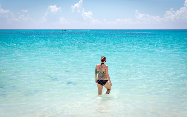 Walk Into Town 001 2 650x406 - Another Beautiful Summer Day in Playa del Carmen Mexico