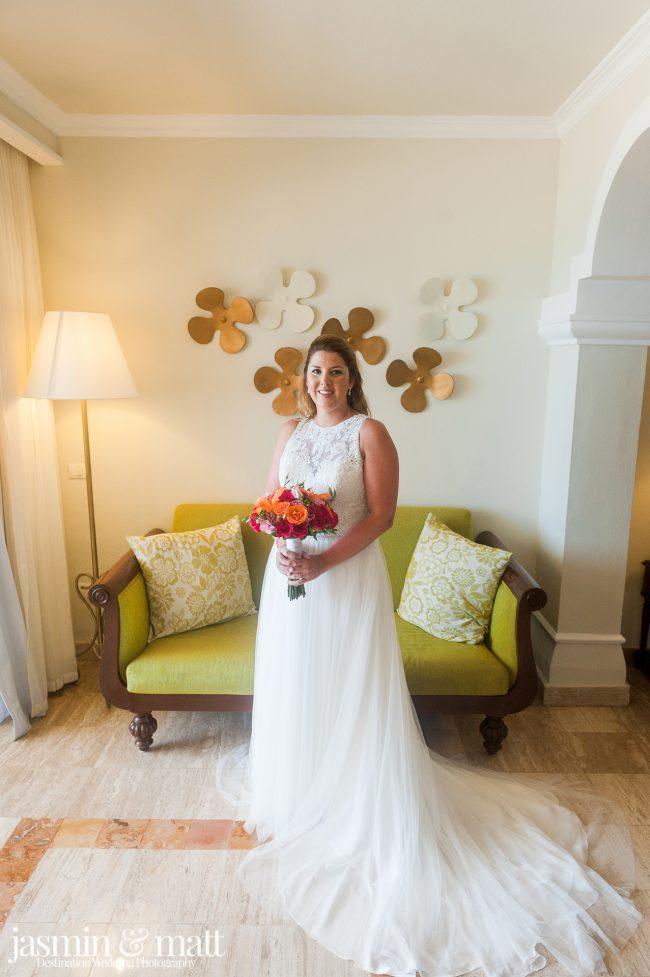 Meghan & Shawn's Charming Destination Wedding at Now Sapphire Riviera Cancun
