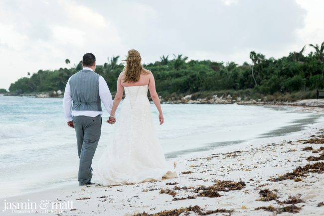 Heather & Josue's Secluded Beach Wedding at Hotel Barceló Maya Beach