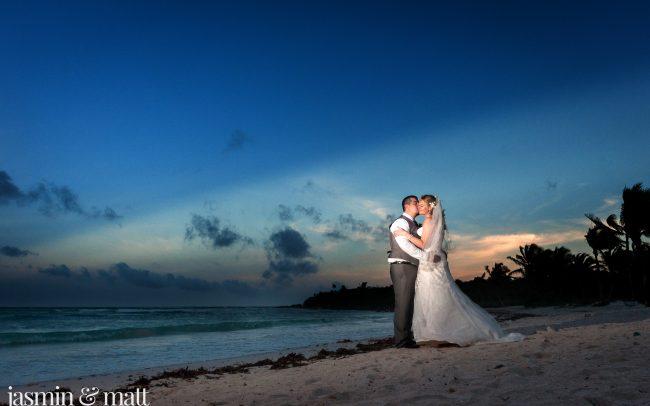 Heather & Josue's Secluded Beach Wedding at Hotel Barceló Maya Beach