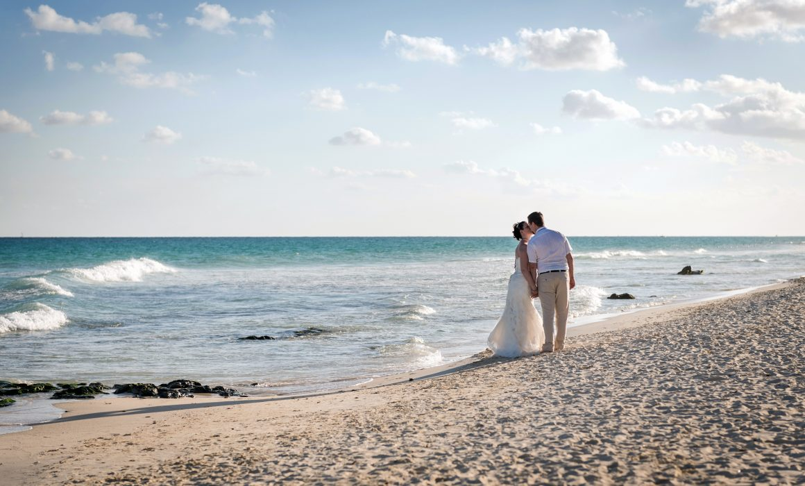 Monica & Chance - Playacar Beach Honeymoon Photography