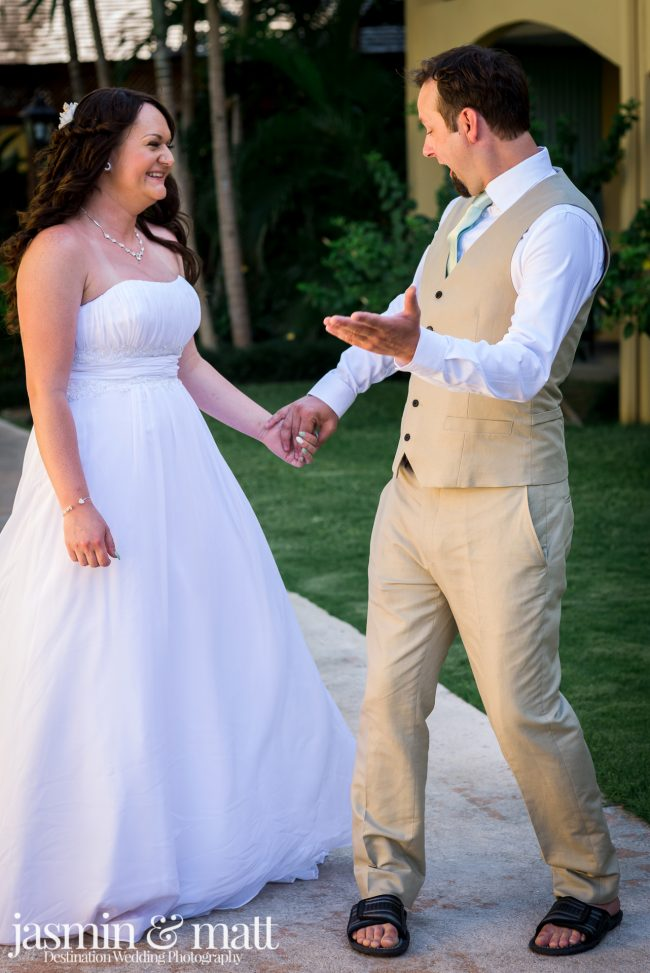Kayla & Aaron's Charmingly Sweet Destination Wedding at Jewel Runaway Bay in Jamaica
