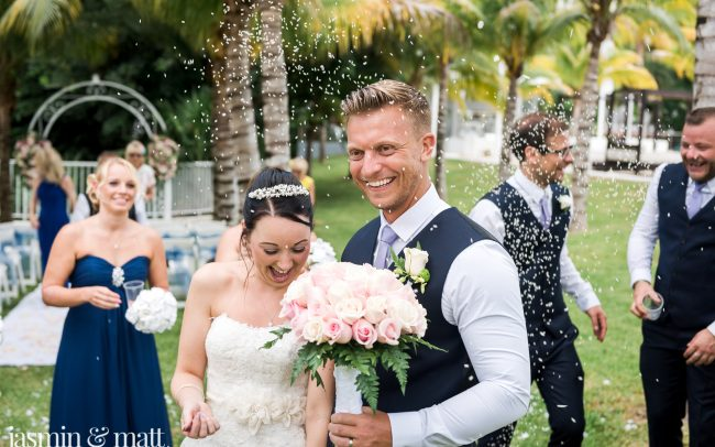 Jessica & Derrick's Pleasantly Charming Destination Wedding at Riu Yucatan Playacar