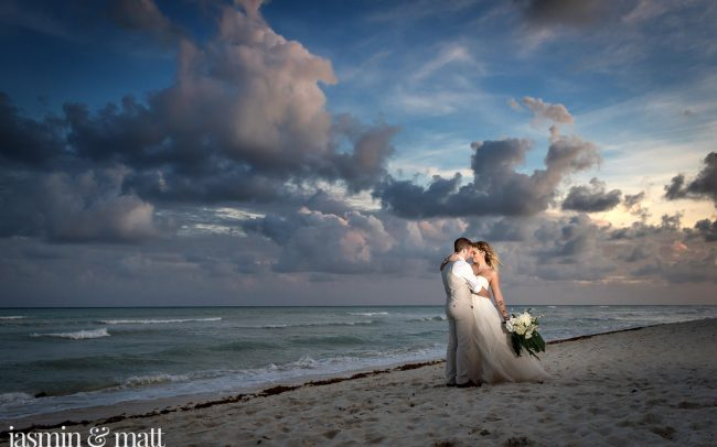 Kaylie & Josh's Emotional & Lovely Destination Wedding at Grand Riviera Princess