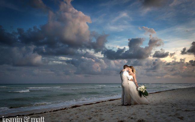 Kaylie & Josh's Emotional & Lovely Destination Wedding at Grand Riviera Princess