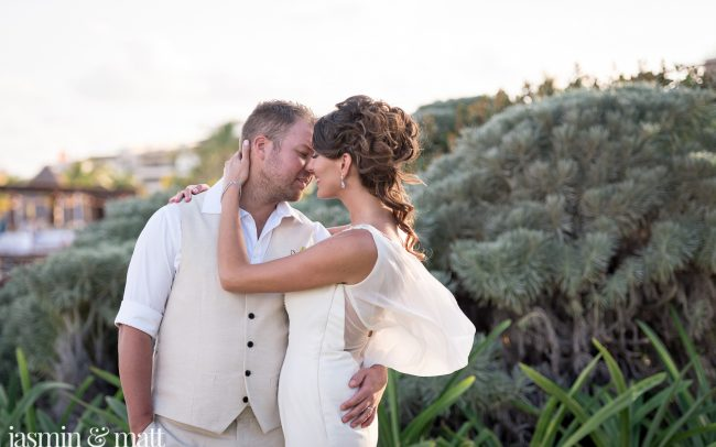 Jenny & Chris's Stunning & Simple Destination Wedding at The Royalton Riviera Cancun