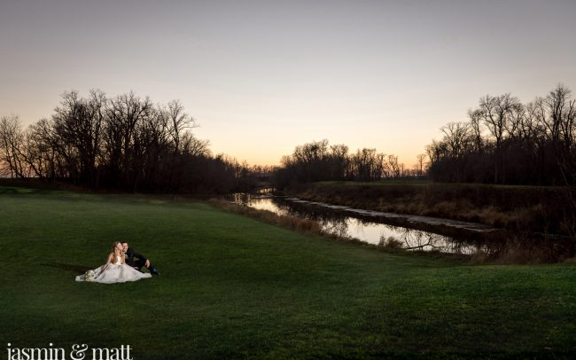 Krista & Ryan's Late Autumn, Fairy Tale Wedding at Bridges Golf Course, Manitoba