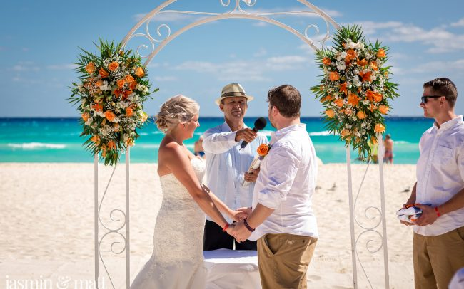 Jori & Justin's No-Fuss, Fabulously Fun Destination Wedding at Riu Yucatan