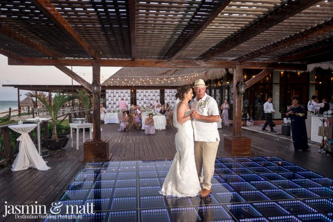 Ashleigh & Brandon's Elegant & Fun, Beach Wedding at Now Sapphire Riviera Cancun - Playa del Carmen & Cancun Wedding Photography