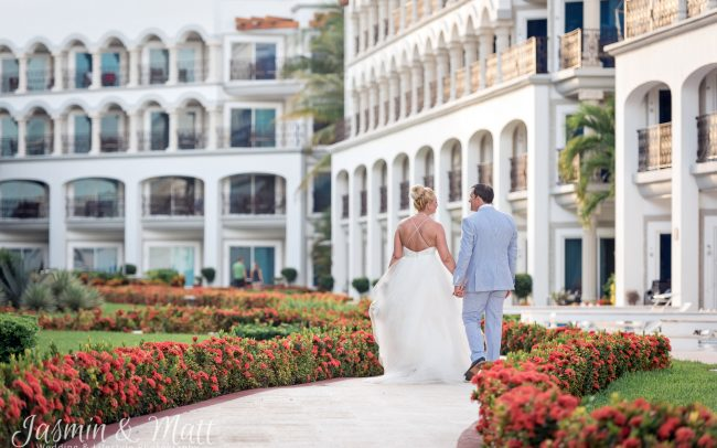 Melissa & Dan's Magnificent & Regal Destination Wedding at The Royal Playa del Carmen - Playa del Carmen Wedding Photography