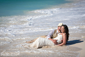 Ashleigh & Brandon at Now Sapphire - Cancun Wedding Photography