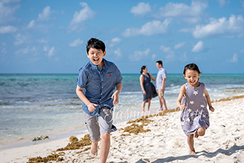 The Kim Family - Cancun Family Photography