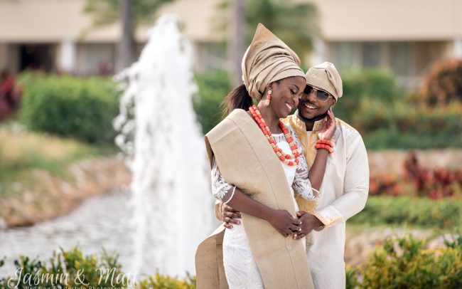 Ruvi & Wale's Traditional Nigerian-Zimbabwean Wedding Celebration at Moon Palace