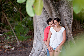 Stephanie & Daniel's Surprise Proposal - Cancun Wedding Photography