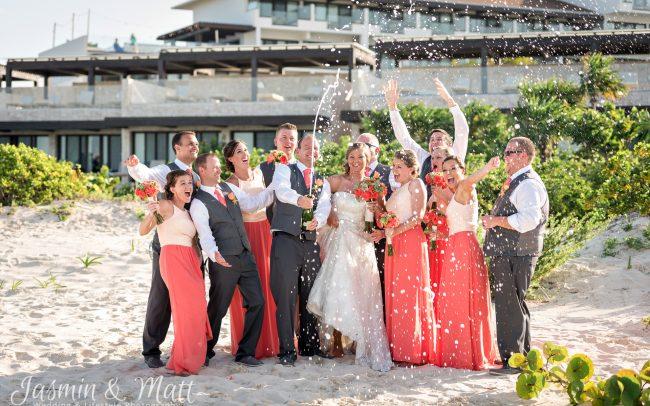 Jenny & Sean's Idealistic, Beach Destination Wedding at Dreams Playa Mujeres - Riviera Maya & Cancun Wedding Photography