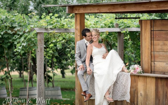 Tara & Justin's Boho Wedding at Gatzke Orchard in Oyama, British Columbia, Canada