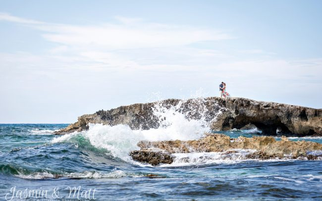 Stacy & Chris's Ten year Anniversary Couple's Session on Cozumel Island