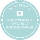Jasmin & Matt Photography Featured on Your Perfect Wedding Photographer
