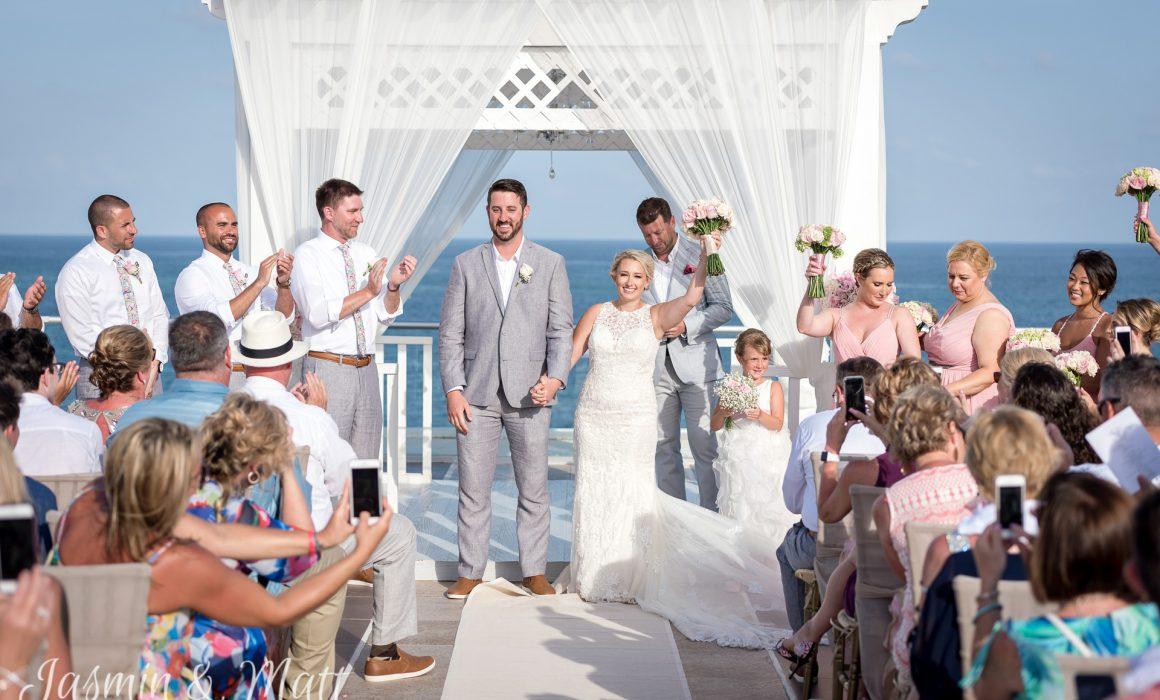 Amy & Jeff - Azul Beach Riviera Cancun Wedding Photography