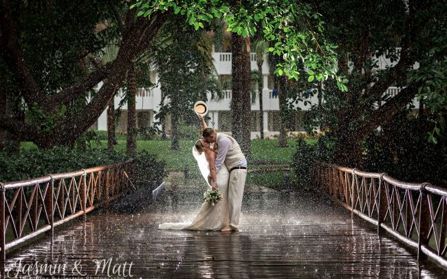 Sarah & Kevin - Grand Sunset Princess Wedding Photography