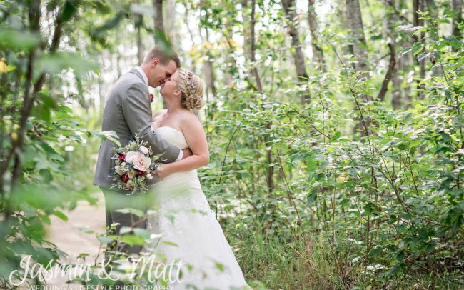 Leigh & Kyle - Cielos Garden Manitoba Wedding Photogaphy