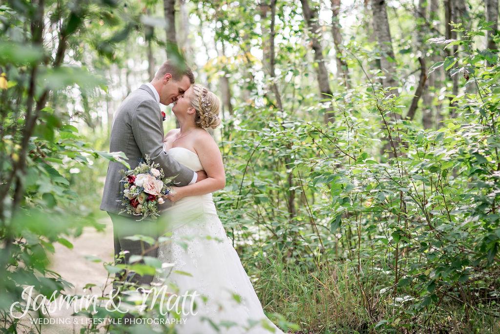 Leigh & Kyle - Cielos Garden Manitoba Wedding Photogaphy