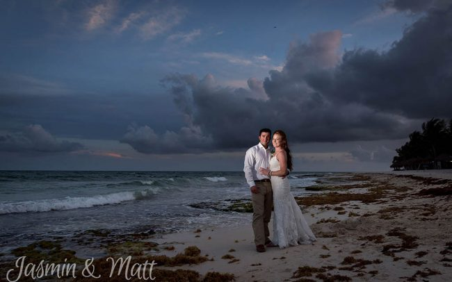 Stacey & Tyler - Azul Fives Playa del Carmen Wedding Photography