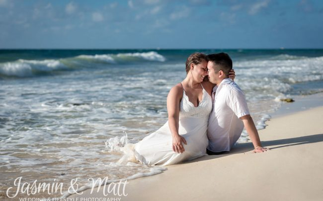 Amanda & Brian - Playa del Carmen Elopement Photography
