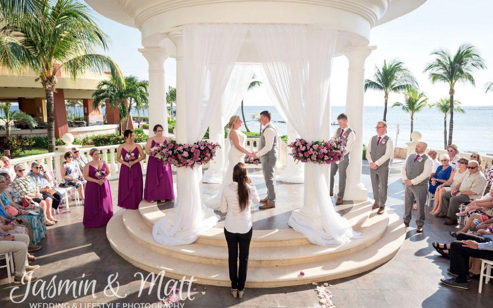 Lauren & Fred - Barcelo Maya Grand Wedding Photography