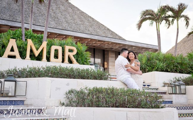 Kim & Eli - Vidanta Riviera Maya Proposal Photography