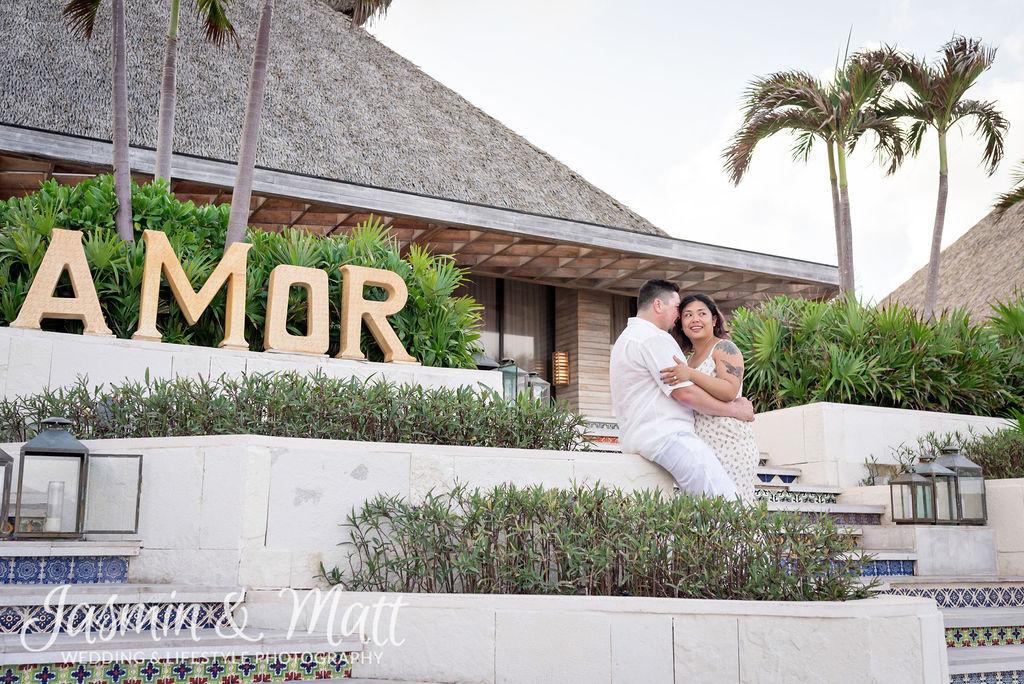 Kim & Eli - Vidanta Riviera Maya Proposal Photography