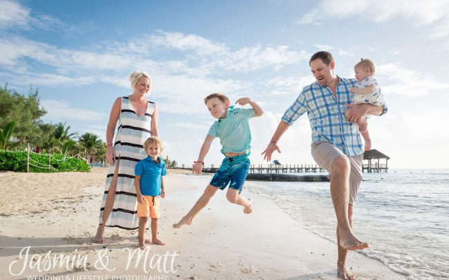 Knutson Family - Playa del Carmen Family Photography