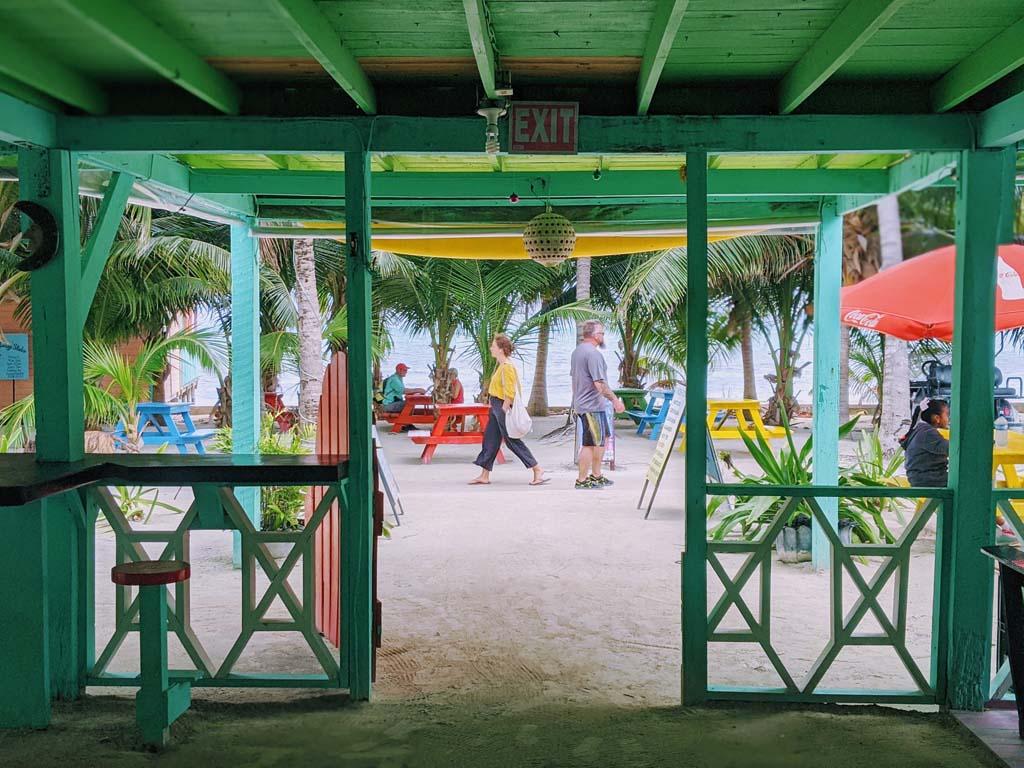 jasmin matt caye caulker belize wedding 013 - Caye Caulker, Belize