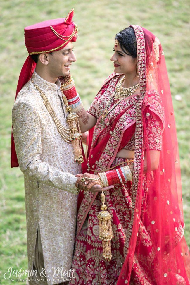 Nidhi & Nikhil Getting Ready & First Look