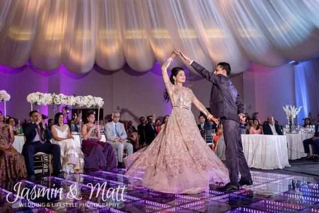 Nidhi & Nikhil - Indian Wedding Reception at El Dorado Royale