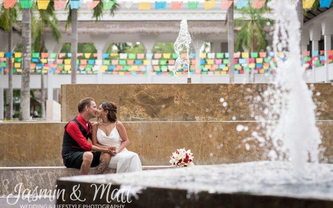 Aimee & Gary - Grand Sunset Princess Destination Wedding