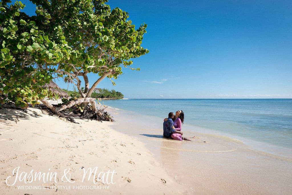 Alliy & Rick - Playa del Carmen Engagement Photography