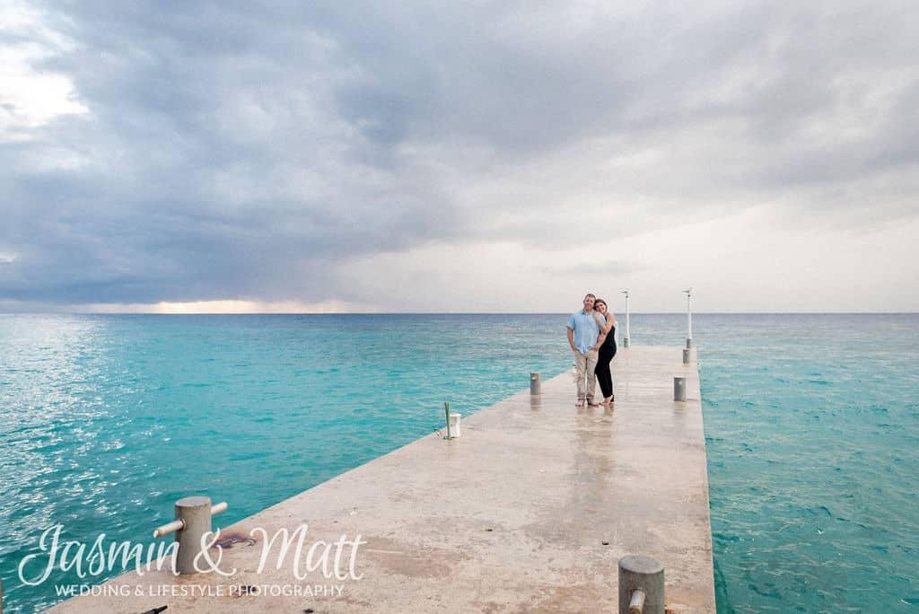 Inna & Brian - Westin Cozumel Proposal Photography