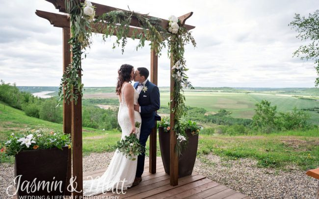 Cindy & Evan - Asessippi Ski Resort Manitoba Wedding Photography