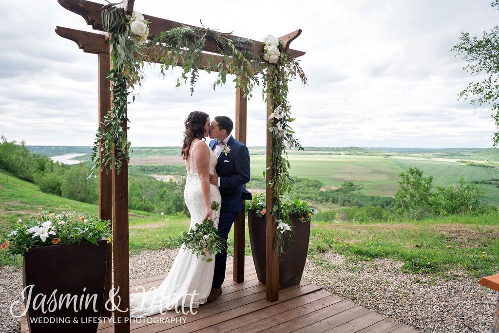 Cindy & Evan - Asessippi Ski Resort Manitoba Wedding Photography
