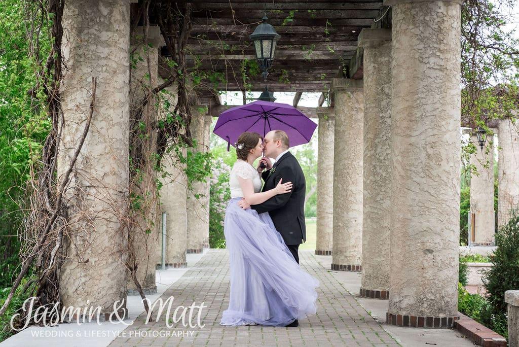 Kayla & Geoff - Leo Mol Sculpture Garden Assiniboine Park Wedding