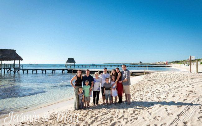 Barley & Kegerise Families - Vidanta Riviera Maya Family Photography