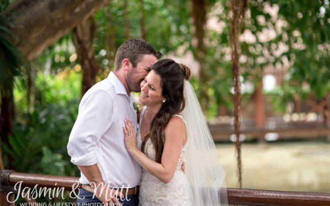 Darsann & Aaron - Grand Sunset Princess Wedding Photography